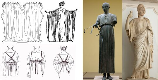 Fashion in Ancient Greece - Ionic Chiton
