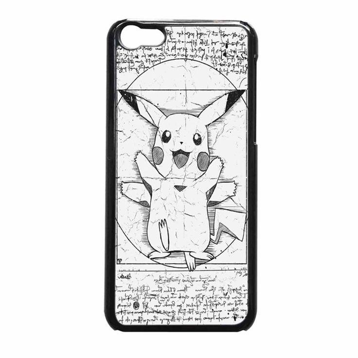 ... Vitruvian iPhone 5c Case : Pikachu, Iphone 5c Cases and 5c Case
