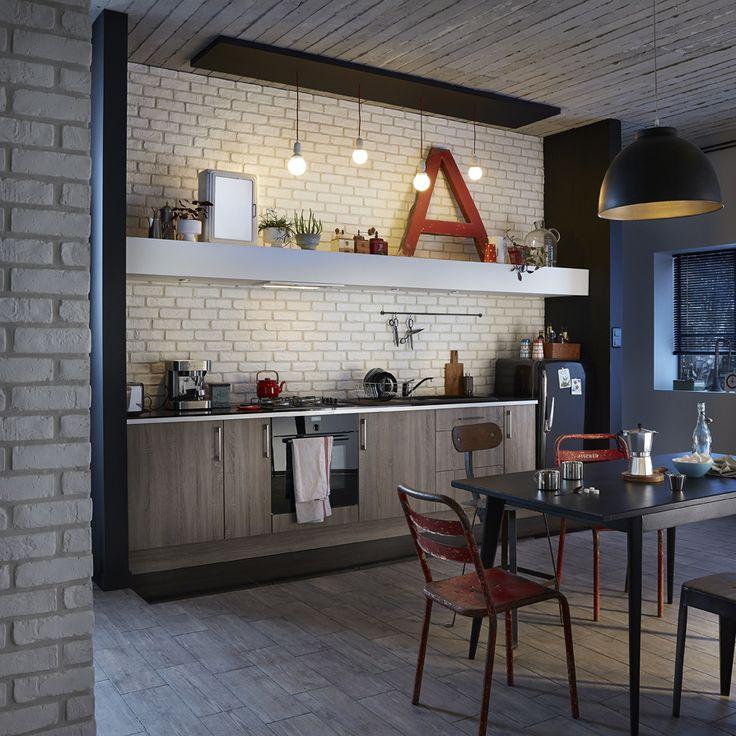 plaquette de parement pl tre blanc chelsea ideedeco homedecor mur d co pinterest. Black Bedroom Furniture Sets. Home Design Ideas