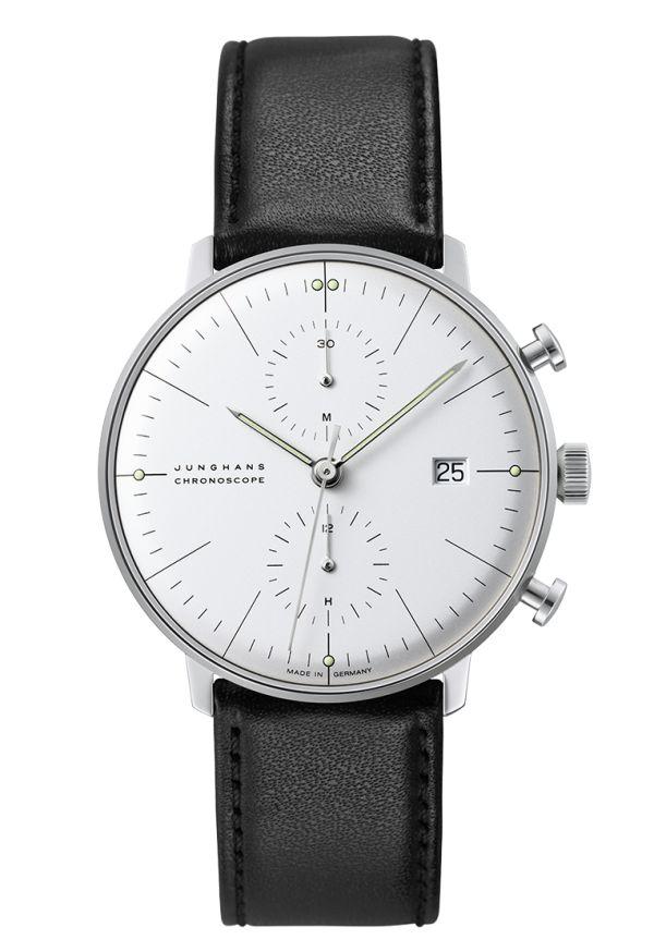 Ref. Nr. 027/4600.00 - Als einer der außergewöhnlichsten Designer des letzten Jahrhunderts hinterließ der Architekt, Bildhauer und Produktgestalter Max Bill ein umfangreiches Lebenswerk, darunter eine der faszinierendsten Uhrenkol-lektionen der letzten Jahrzehnte.