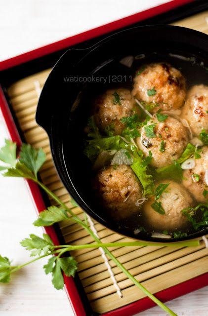 Bakso pong (Tahu, ayam, udang)