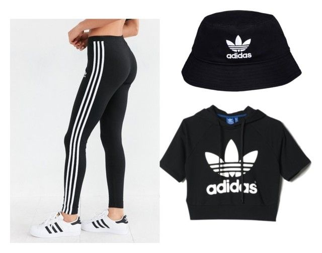 Adidas Outfit by diovion-doakes on Polyvore featuring adidas and adidas Originals