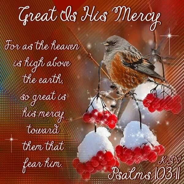 Psalm 103:11 KJV