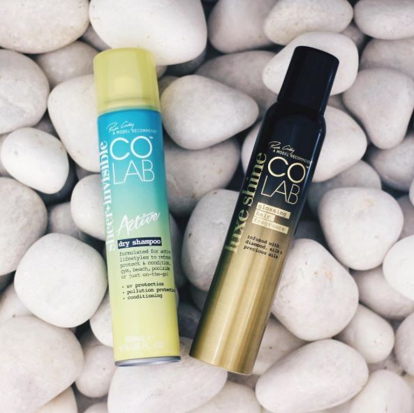 Nailing it 💯 Keep your hair game strong! Spritz COLABActive to revive & refresh hair and Luxe Shine for added sparkle 💫✨💫 #COLAB #LuxeShine #Active #HairGoals #ModelRecommends  #RG 📸 Bellacure Nails Spa 💋  Available Superdrug feelunique.com BeautyMart UK Cloud 10 Beauty ASOS