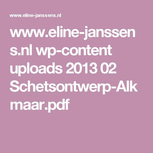 www.eline-janssens.nl wp-content uploads 2013 02 Schetsontwerp-Alkmaar.pdf