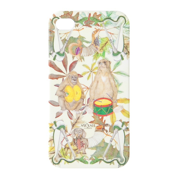 """""""PET SOUNDS""""    kanvas products® x SWASH LONDON,     iPhone Cases by Fashion Designers and Creators,     SUMMER 2012"""