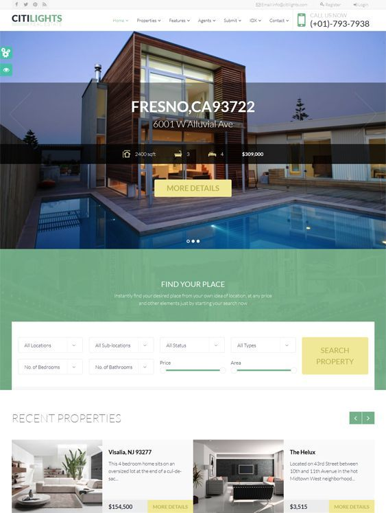 Mejores 48 imágenes de Web Design for Real Estate Businesses en ...