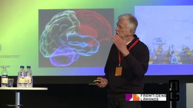 Rolf Ekman, föreläsning på Studio Lärmiljö, en del av Framtidens lärande 2012