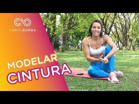 Como modelar a cintura - Carol Borba - YouTube