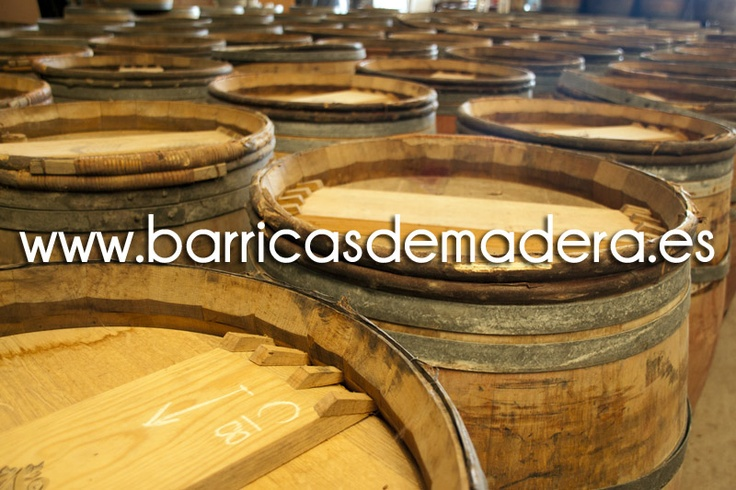 #Barricas de madera usadas tipo Château - www.BarricasDeMadera.es -