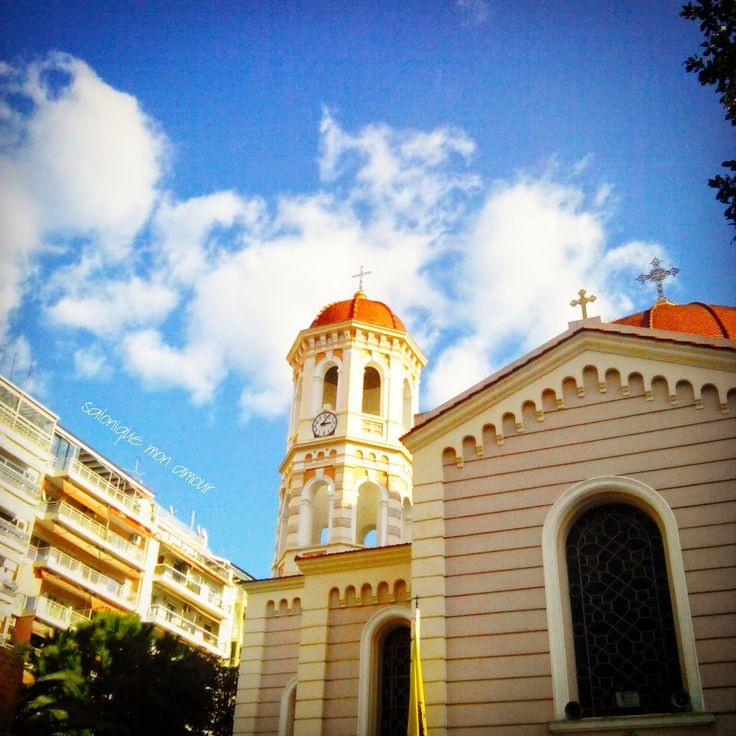 The Cathedral of Saint Gregory Palamas at Agias Sofias