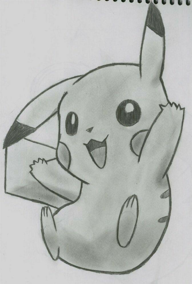 Dibujo De Pikachu A Lapiz Aprende A Dibujar Pokemon Con Este Truco Sencillo Dibujos A Lapiz Faciles Dibujos Dibujo A Lapiz Anime