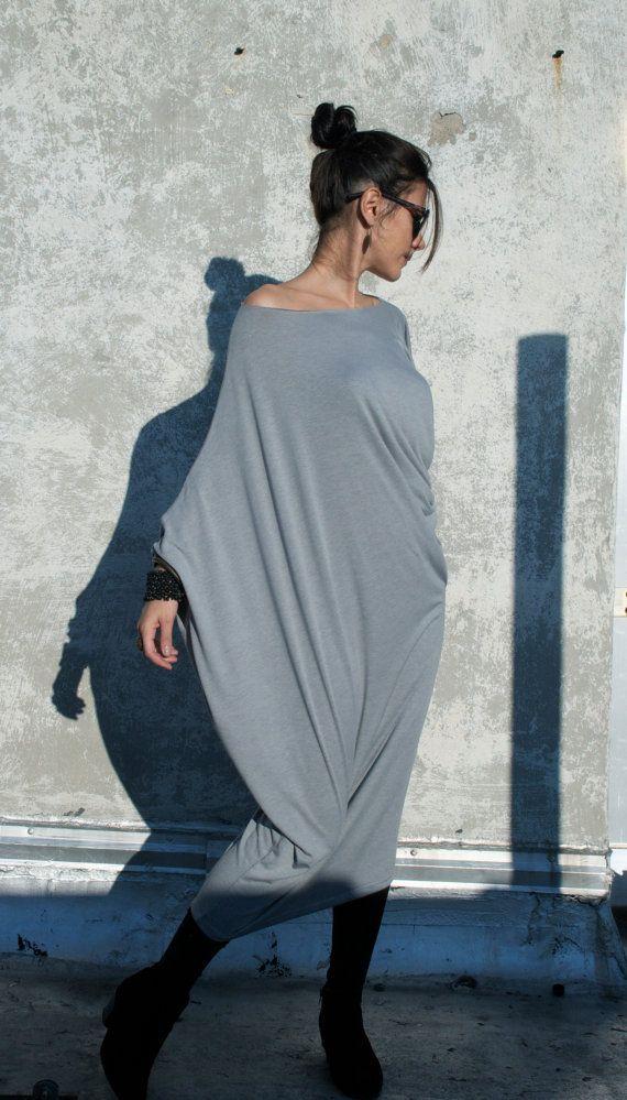Long Dress/ Oversize Midi Tunic  Donation to by marcellamoda, $75.00