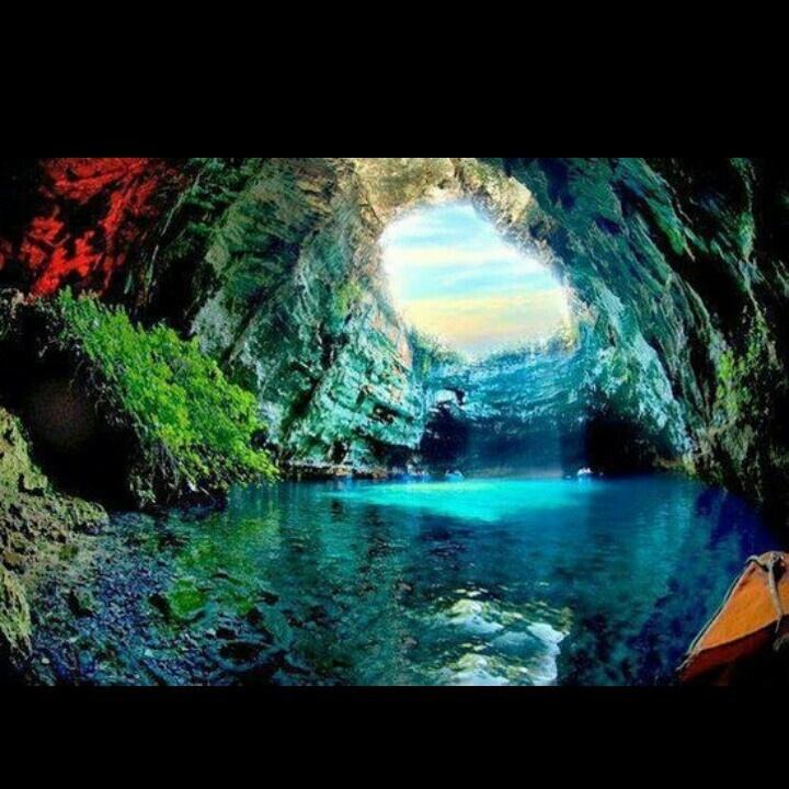 Greece cave