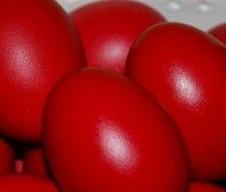 Αυγά βαμμένα με παντζάρια
