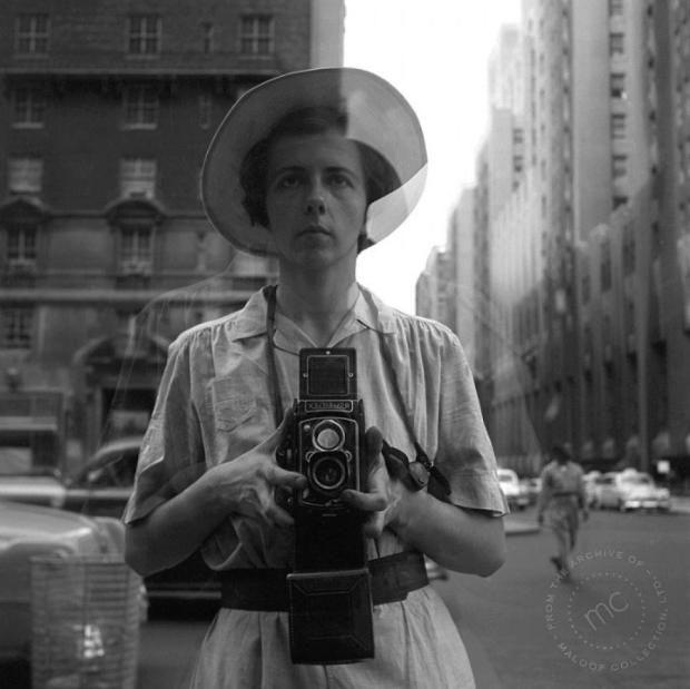 Vivian Maier herself