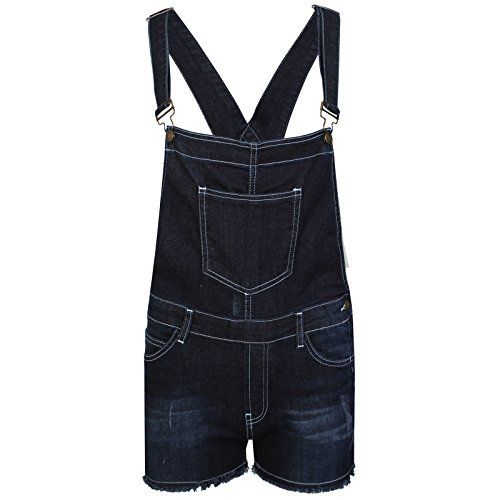 FASHION OASIS WOMENS LADIES SUMMER STRETCH DENIM DUNGAREE SHORTS JUMPSUIT SIZE 8, 10, 12, 14 & 16 - http://www.darrenblogs.com/2017/04/fashion-oasis-womens-ladies-summer-stretch-denim-dungaree-shorts-jumpsuit-size-8-10-12-14-16/