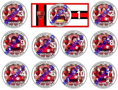 1982_Séries Históricas - Futebol de Mesa: Clubes - Flamengo