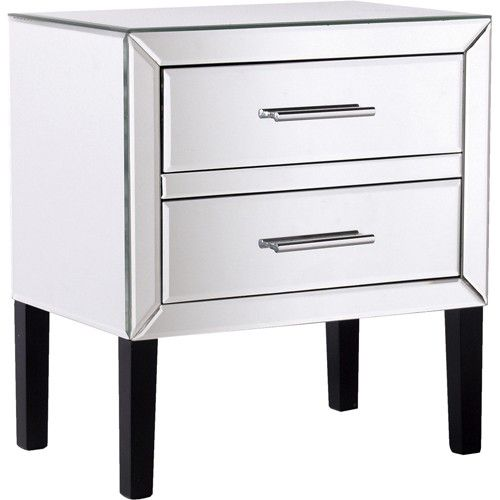 17 Best Images About Bed Side Table On Pinterest Mirrored Nightstand Mirrored Bedroom And