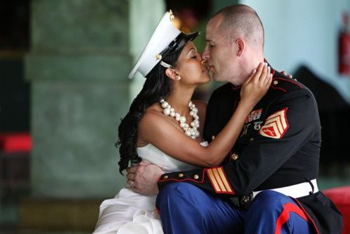 Interracial dating in the military