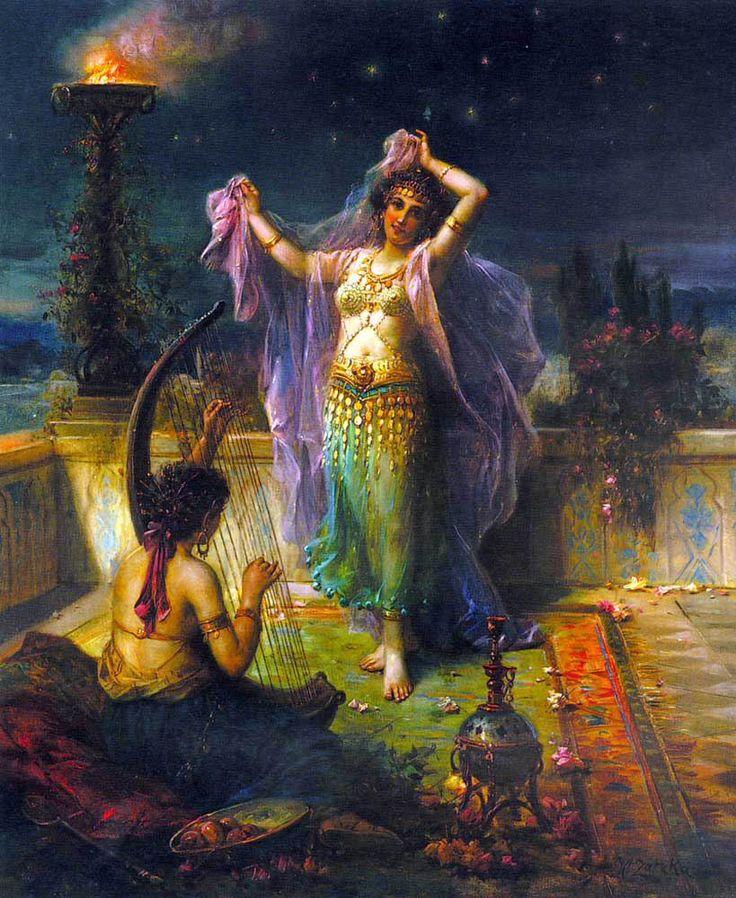 Arabian Nights by Hans Zatzka