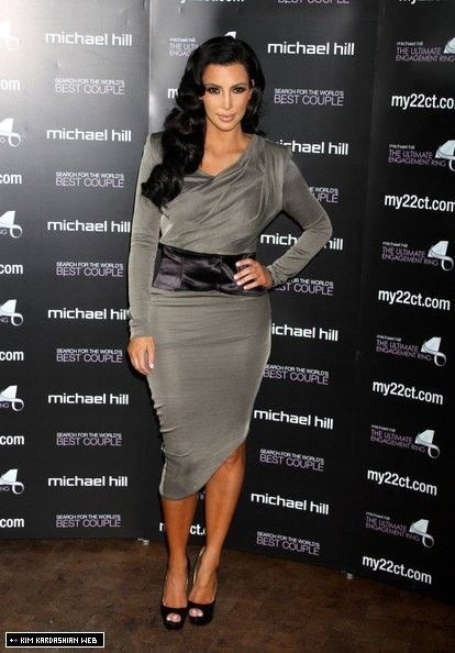 Kim presents Ultimate Engagement Ring to 'World's Best Couple' 12/14/10 - kim-kardashian Photo