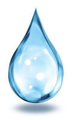 primer plano de una gota de agua