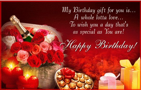 Happy Birthday Graphics for Facebook – Happy Birthday Video Card