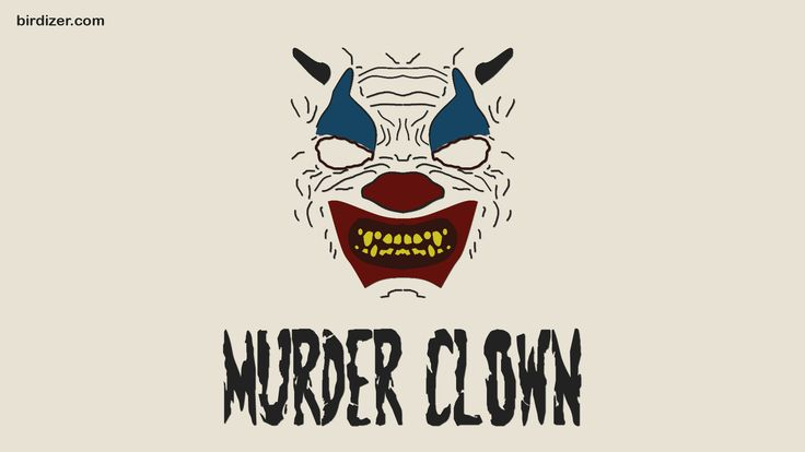 Murder Clown máscara wallpaper
