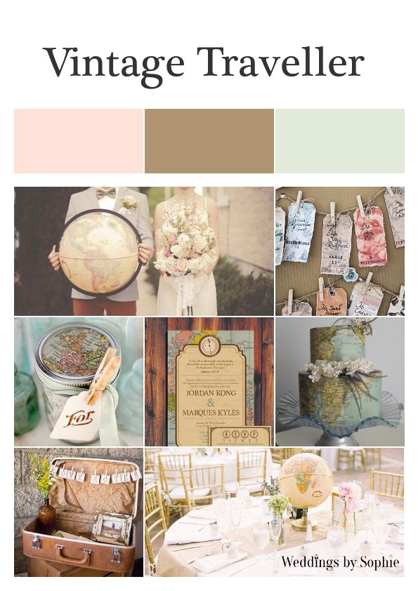 17 Best images about Travel wedding theme