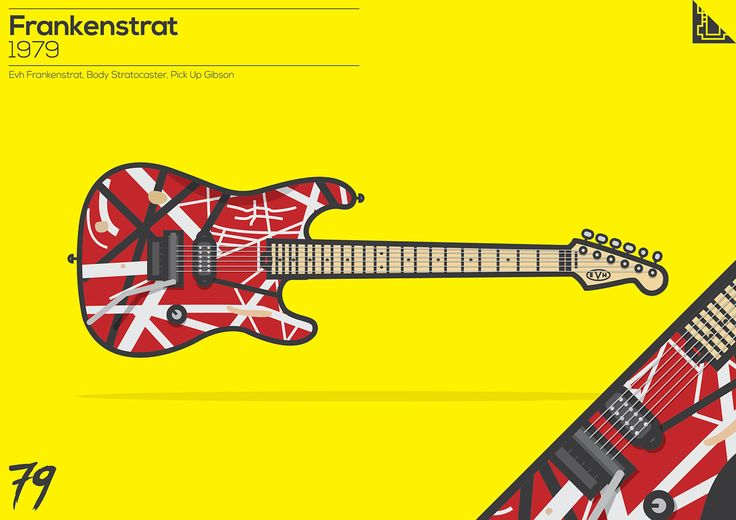 """Check out my @Behance project: """"The Iconic Guitars"""" https://www.behance.net/gallery/42983129/The-Iconic-Guitars"""