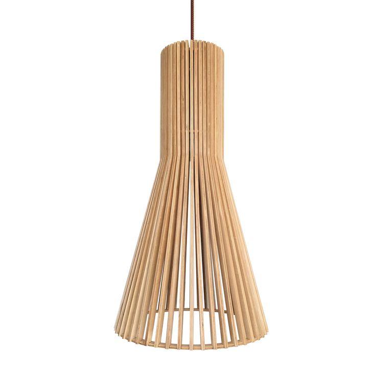 Mejores 57 im genes de l mparas interior madera en pinterest bombillas led estetica y funciona - Lamparas colgantes de madera ...