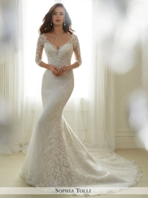 Even Though The Most Popular Wedding Dresses Are Strapless However There Is Something To