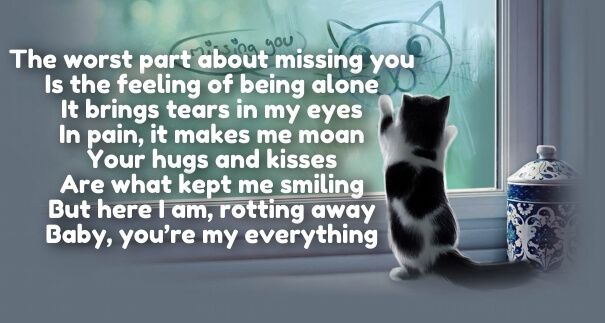 love and miss you poems | love | Missing you poems, Love