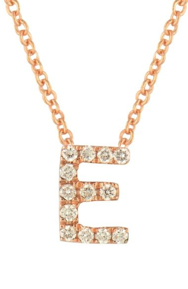 Bony Levy Pavé Diamond Initial Pendant Necklace (Nordstrom Exclusive) available at #Nordstrom
