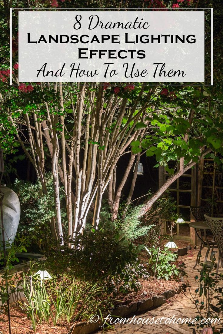 8 Dramatic Landscape Lighting Effects And How To Use Them & Best 25+ Garden lighting effects ideas on Pinterest | Garden ... azcodes.com