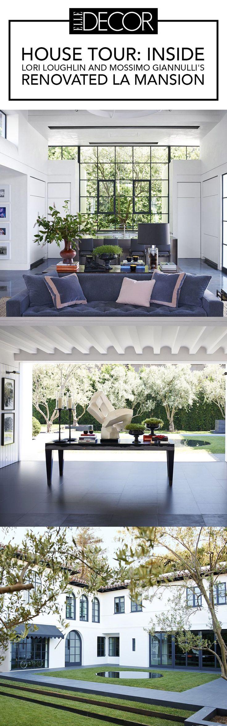 HOUSE TOUR: Inside Lori Loughlin And Mossimo Giannulli's Renovated LA Mansion - ELLEDecor.com