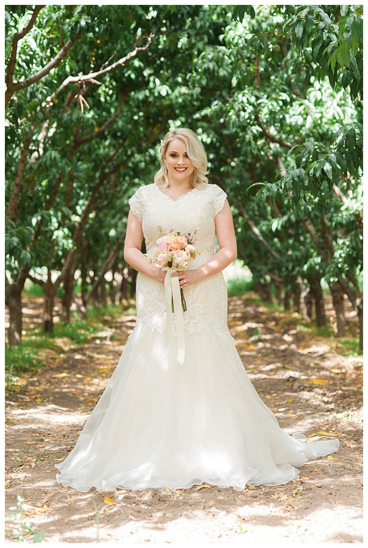 Vintage pearl bridal blog real brides news amp updates wedding - Modest Wedding Dresses Lds Bridemodest