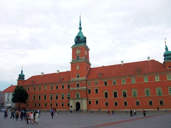 Royal Castle Warsaw: Thanks again to James Michener for familiarizing me with the parade of  Polish kings who lavishly outfitted the castle with Renaissance art and furnishings.