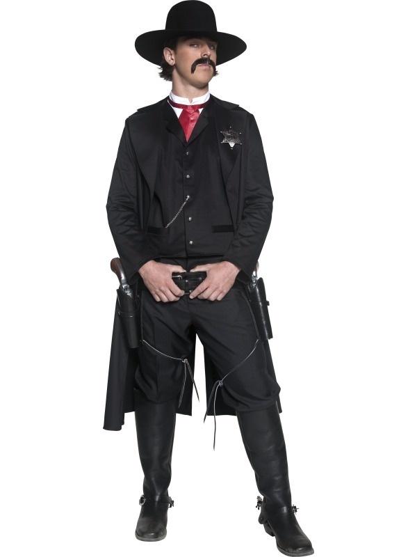 Mens Wild West Cowboys Indians Fancy Dress Costume   eBay