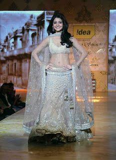 Anushka Sharma At Manish Malhotra's Mijwan Fashion Show