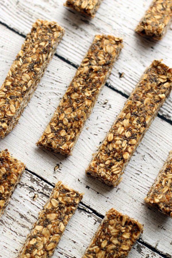 No-Bake Peanut Butter Granola Bars
