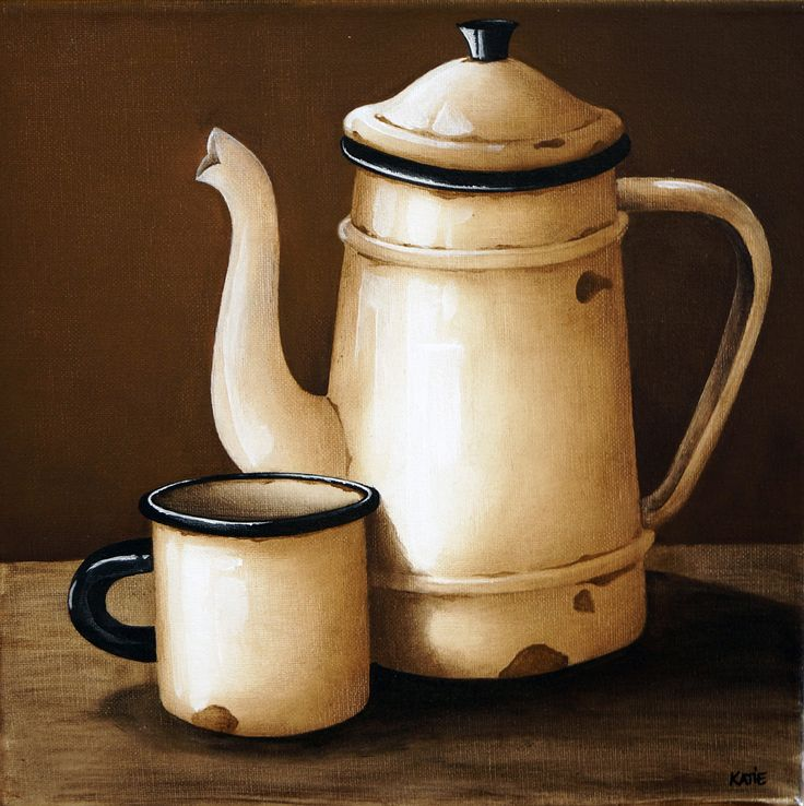 Enamel Jug and Cup - 300 x 300 - R595.00 - Katie