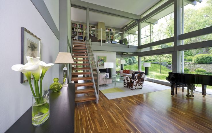 Offene-Küche-und-Esszimmer-mit-Treppenhaus-im-HUF-Hausjpg (1024 - gebrauchte küchen koblenz