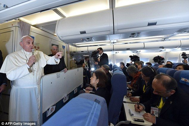 There had been speculation that Pope Francis was set to visit California but he told journalists