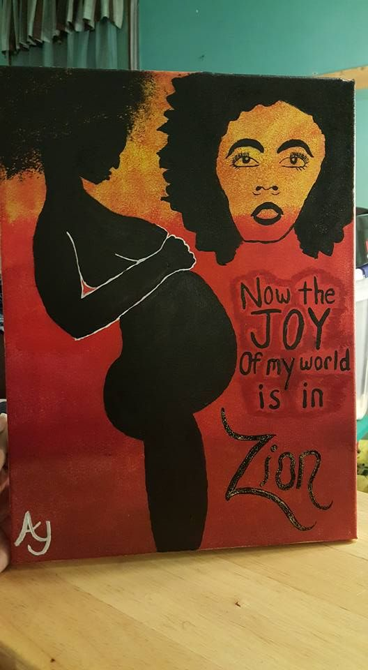 """""""Zion..."""" A tribute to Lauryn Hill's song """"To Zion"""" on the 1999 album """"The Miseducation of Lauryn Hill""""."""