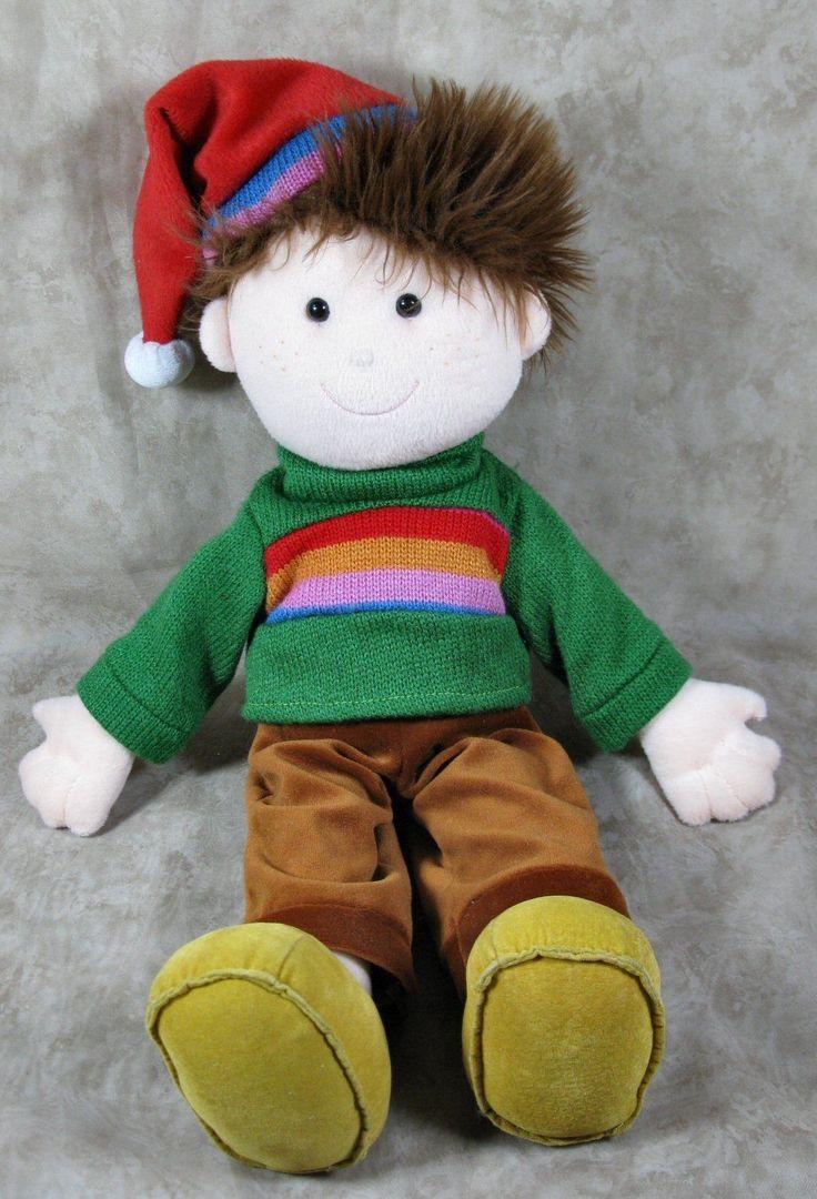 "Okie Dokie 2006 Plush 19"" Boy Christmas Elf Doll Toy Lovey by Commonwealth   eBay"