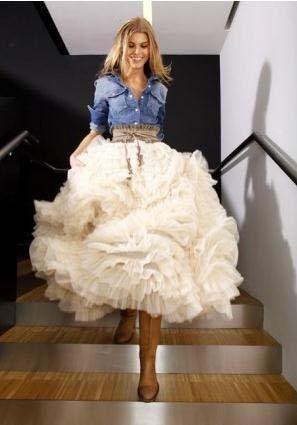Белая юбка для девочек