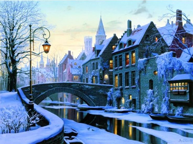 Brugge, Belgium - one of the most delightful and charming cities I've ever seen. Can only imagine how gorgeous it is in snow!