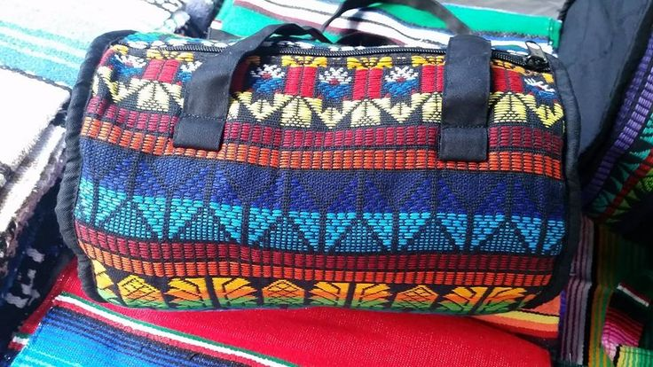 Small Guatemalan Duffel Bag